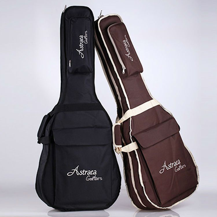 Astraea 7mm Thickness Padded Double Straps 40 41 Acoustic Guitar Soft Case Gig Guitar Bag Backpack In Instrument Bags Cases From Luggag