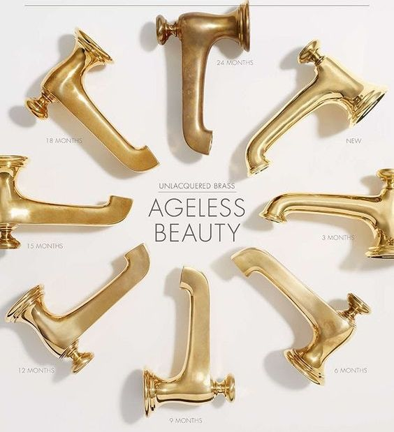 Photo of A comprehensive guide to unpainted brass – the joy of design