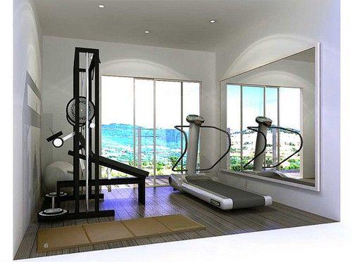 Mini gym gym gems workout room home home gym garage home gym