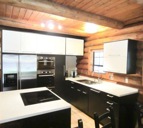 Installing Ikea Cabinets In A Log Home Ikea Kitchen Design Kitchen Design Modern Kitchen Design