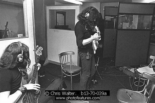 "Recording ""Paranoid""!  (By Cris Walter)"
