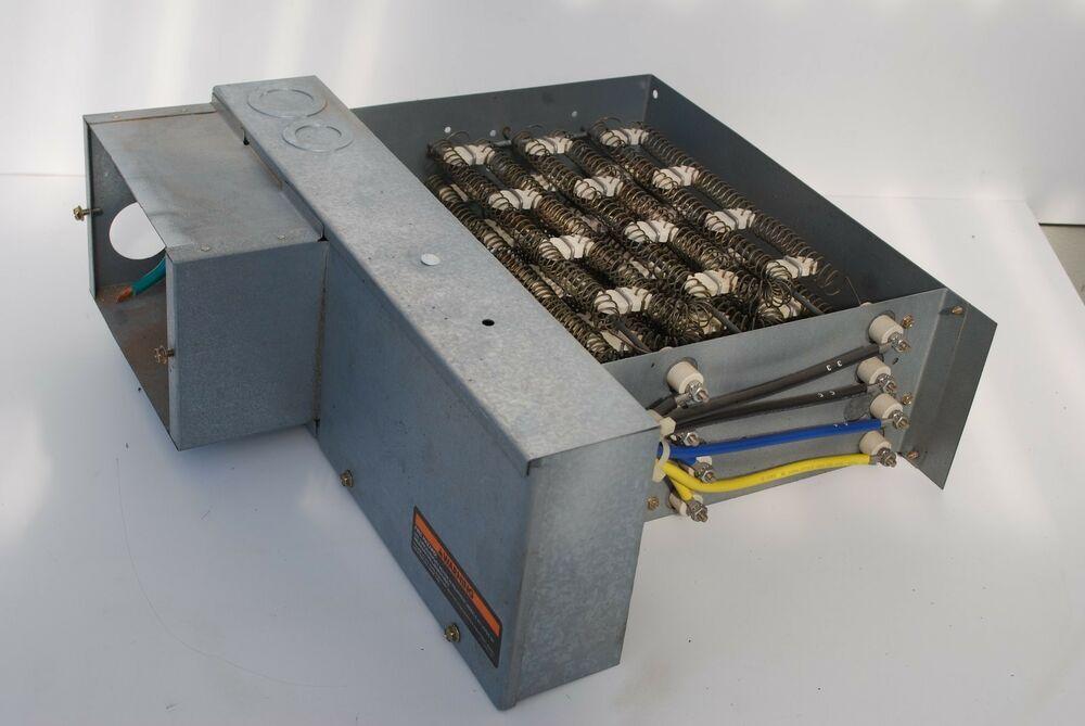 Ebay Sponsored Trane Bay96x142103 21 12 15 85kw 240 208v Electric Heater W Circuit Breakers Electric Heater Electricity Trane