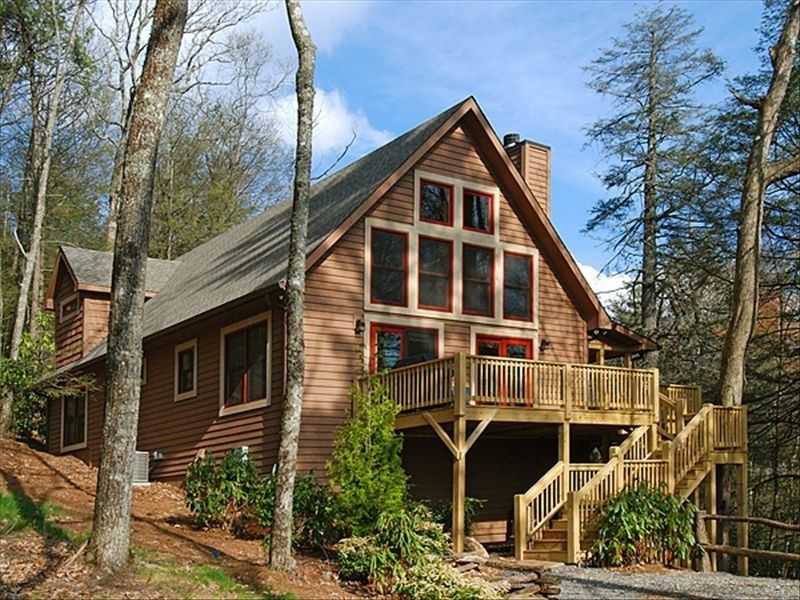 Cabin vacation rental in highlands from