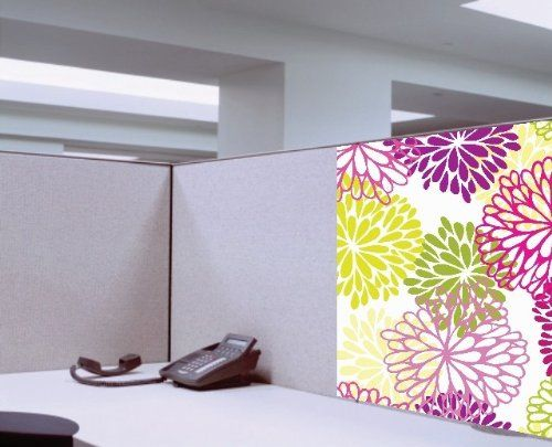 dream cubicle easy stick polyester fabric cubicle