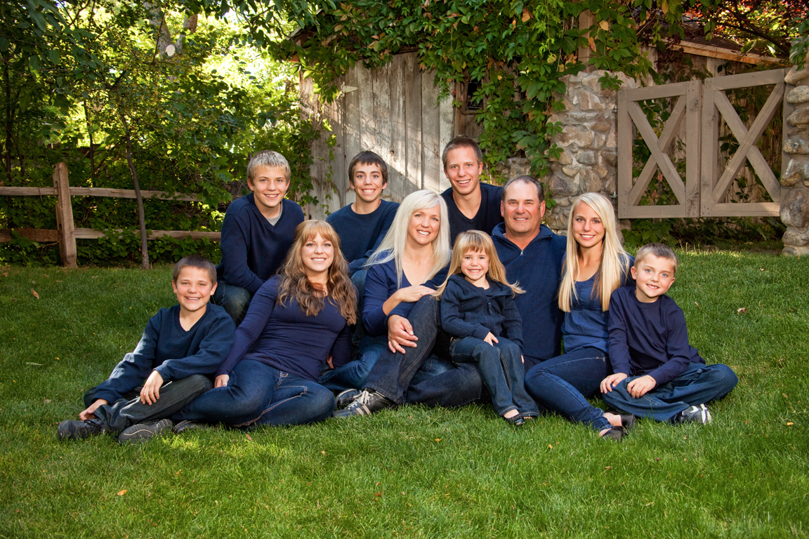 Large Family Photos Clothing Ideas Scott Hancock