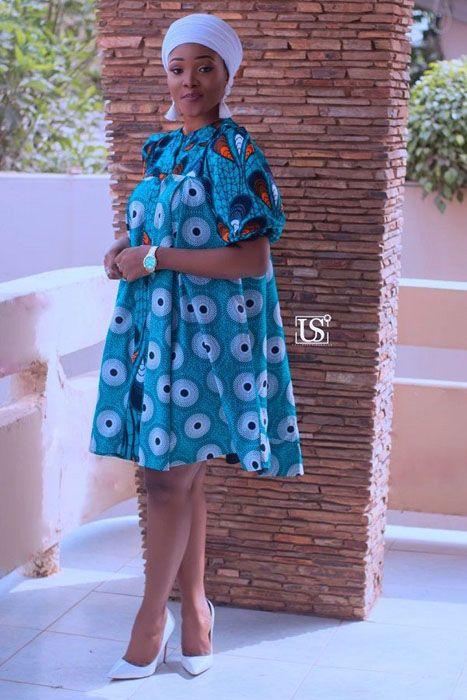 Beautiful Maternity Ankara Gowns For Pregnant Women ...