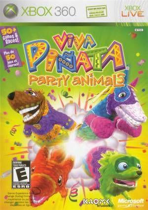 Viva Pinata Party Animals Xbox 360 Game Animal Party Xbox 360 Pinata Party