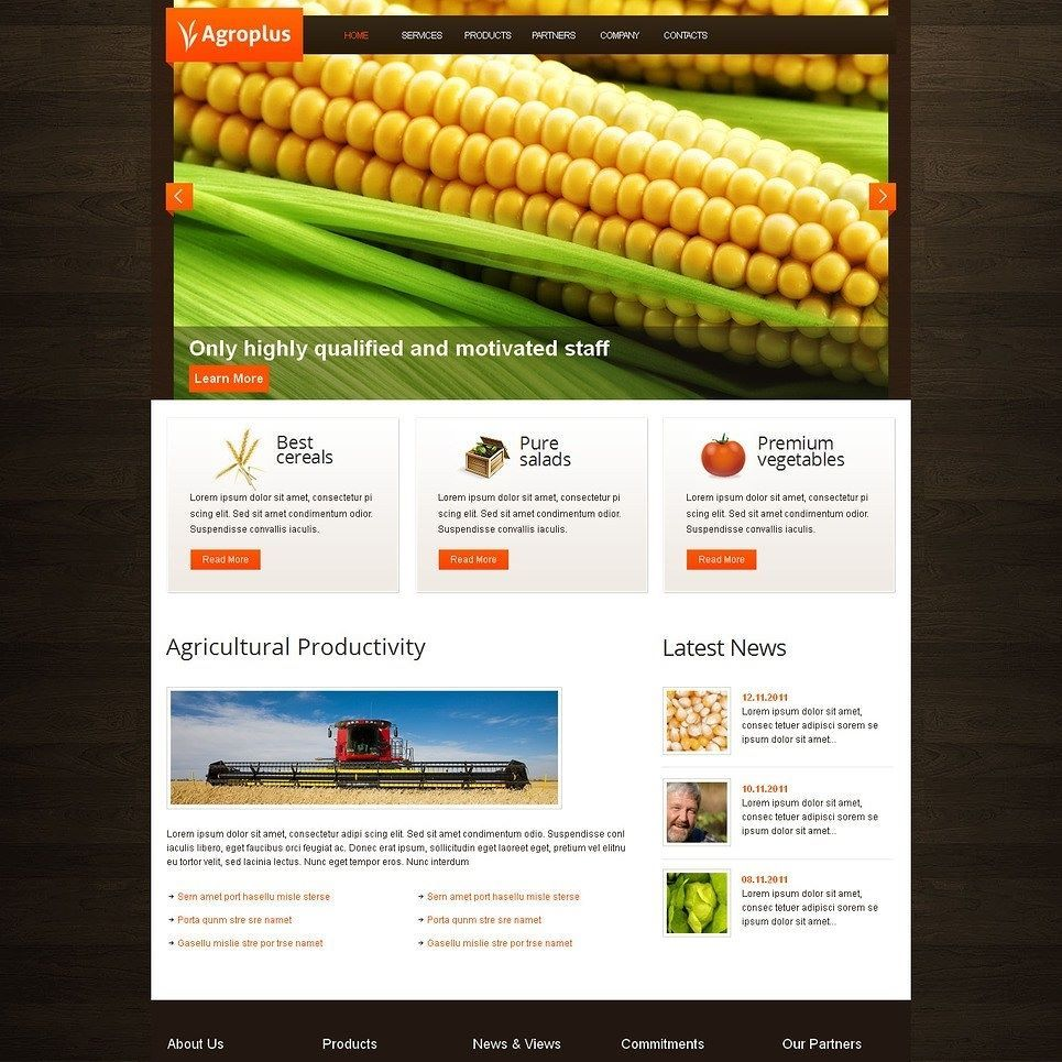 so cute did you like it agriculture moto cms html template click