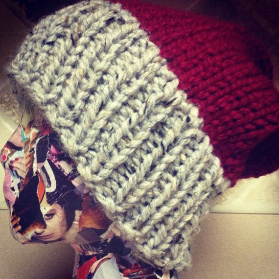 The Perfect slouch Hat on Etsy, $30.00