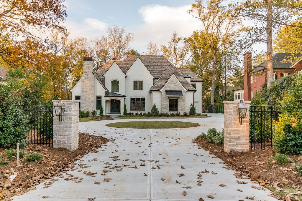 For Sale 3 075 000 Stunning New Build By Etb Homes Just 7 Miles To Chastain Park This Home Has House Exterior Dream House Exterior House Designs Exterior