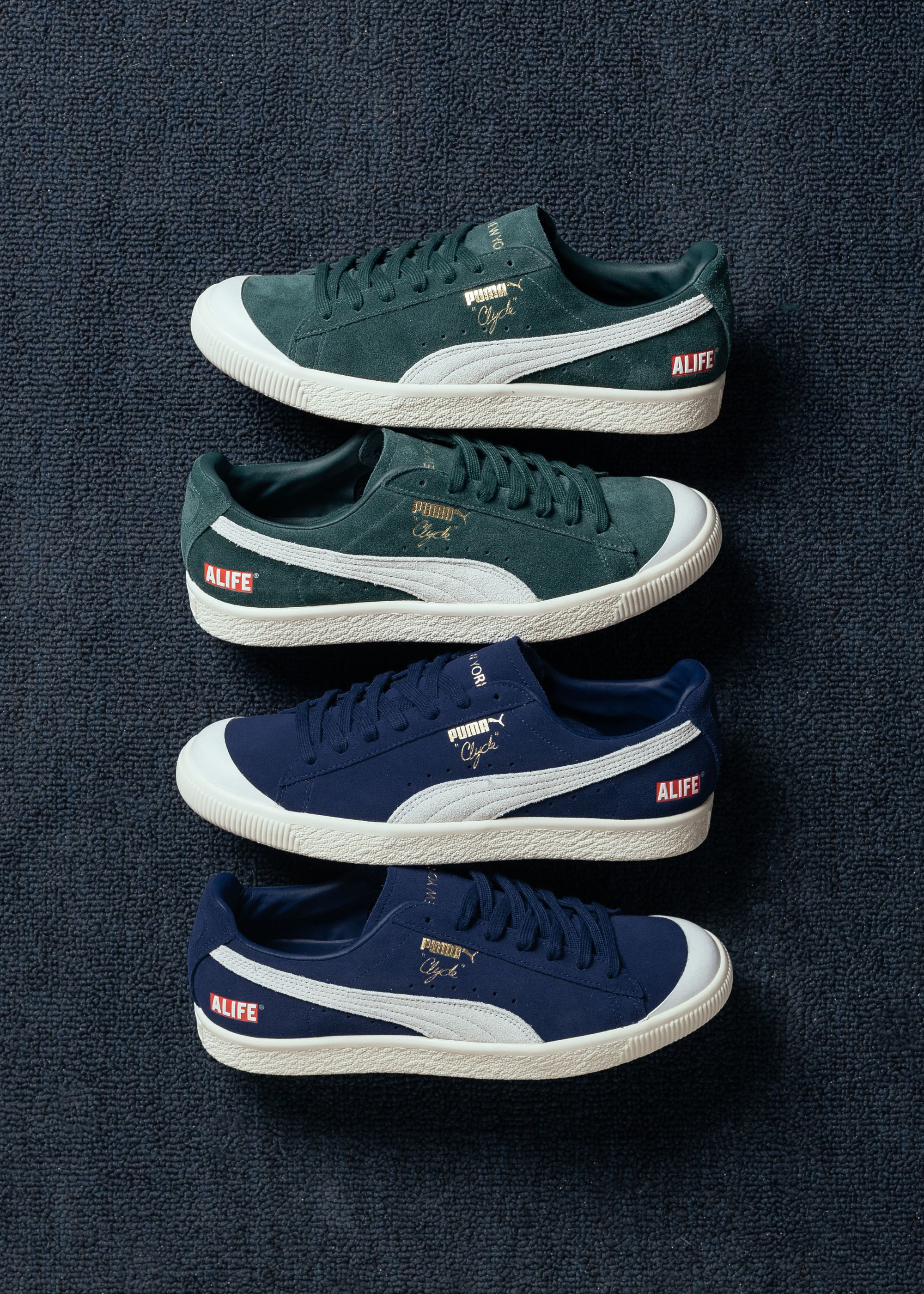 brand new 1fb5c 52a48 Puma x Alife Clyde RT | All Things Good in 2019 | Sneakers ...