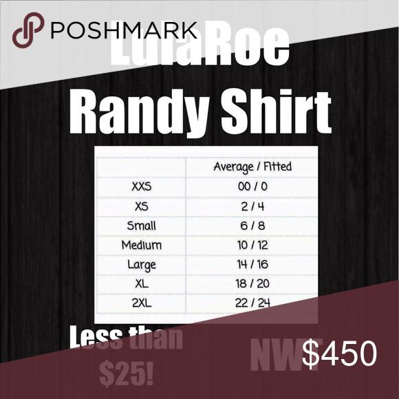 ✔️Lularoe Randy Shirts 🖤 Lularoe Randy Shirts! All less than $25! Shop my closet!! LuLaRoe Tops Tees - Long Sleeve