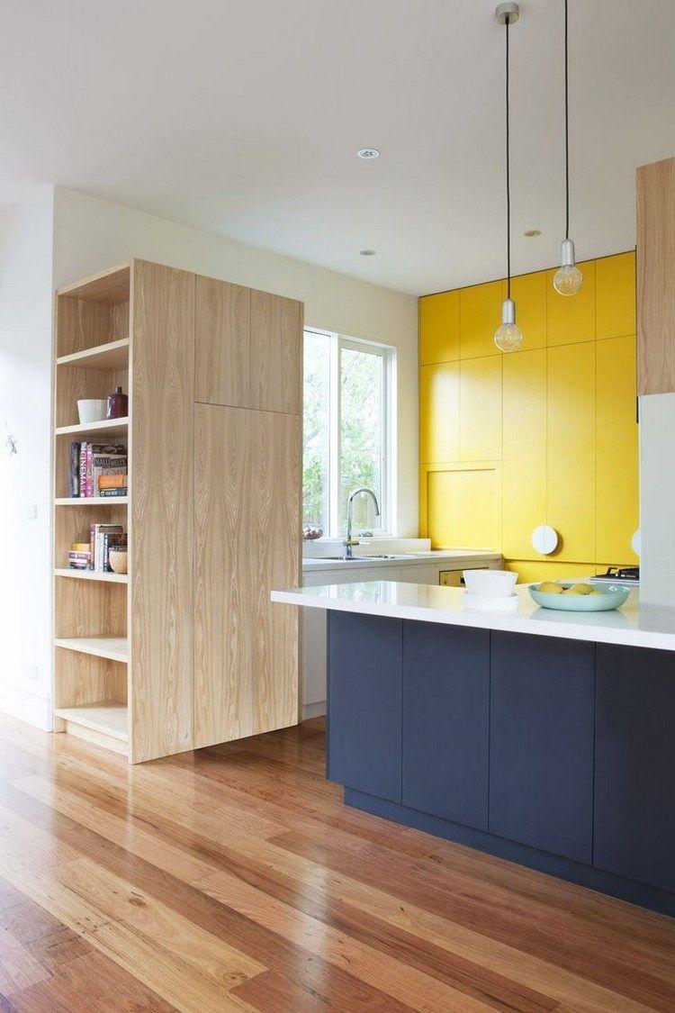 Couleur Pour Cuisine Idées De Peinture Murale Et Façade - Poignee de meuble de cuisine pour idees de deco de cuisine
