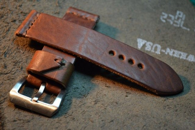 Leather Diy Watch Strap Tutorial Goruntuler Ile Deri Saat