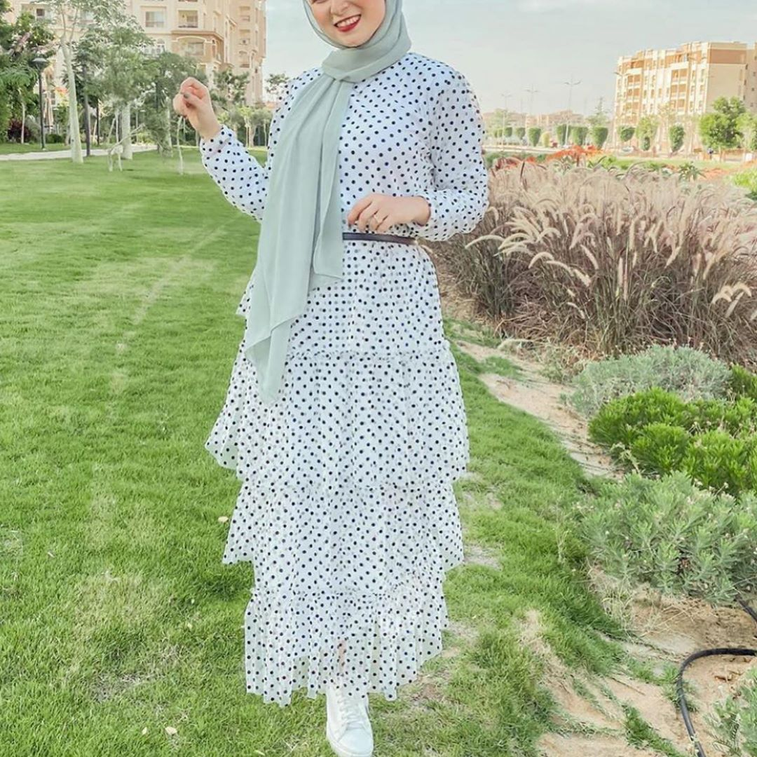 فساتين محجبات 2020 خروج صيفي Fashion Muslim Fashion Dresses