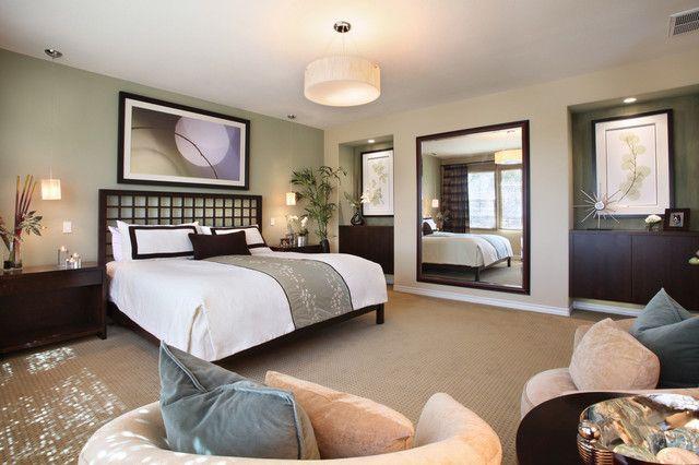 Yorba Linda Master Bedroom Asian Bedroom By International Custom Designs