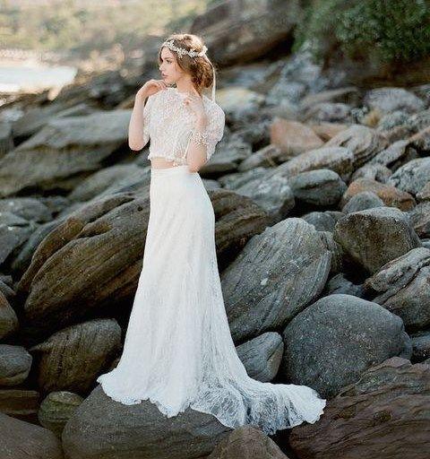 The Latest 2015 Wedding Trend: 30 Bridal Separates