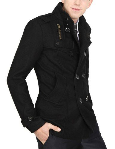 f2ec68132bc Casaco Sobretudo Masculino Coat Importado A Pronta Entrega