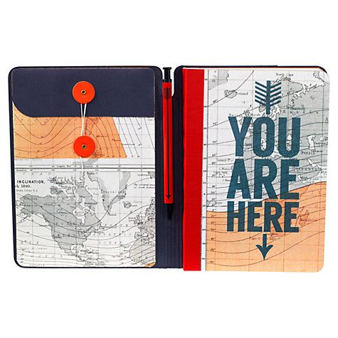 Cartography Travel Journal and Pen Online at johnlewis.com