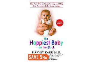 The Happiest Baby on the Block: The New Way to Calm Crying and Help Your Newborn Baby Sleep Longer by Harvey Karp. I found this book to be really helpful especially the shushing and swaddling. The idea of the 4th trimester really made a lot of sense to me.