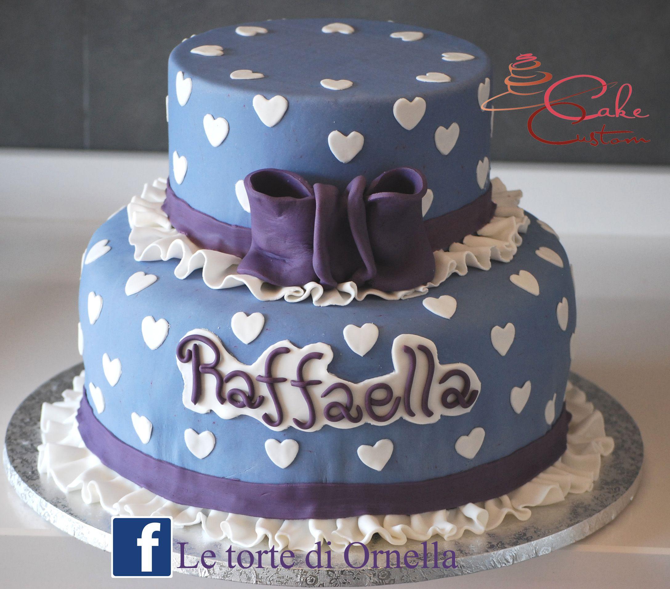 torta con cuori elegante!