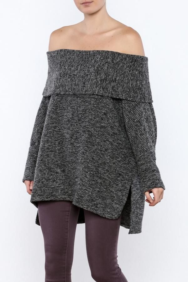 733bd1ec5e0 Bobi Los Angeles Off Shoulder Sweater