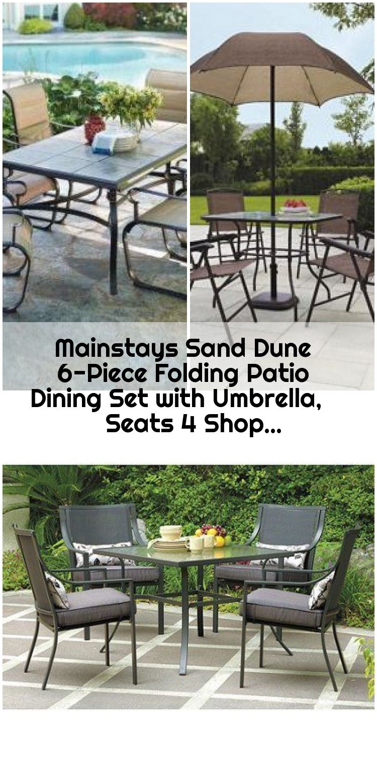 Mainstays Sand Dune 6 Piece Folding