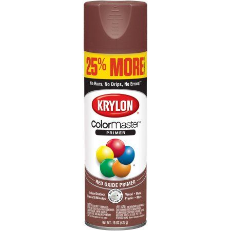 Krylon® ColorMaster Red Oxide Primer, 15-Oz | Products