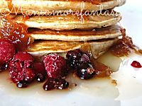 Pancake integrali senza grassi aggiunti... lo giuro!   ricetta light