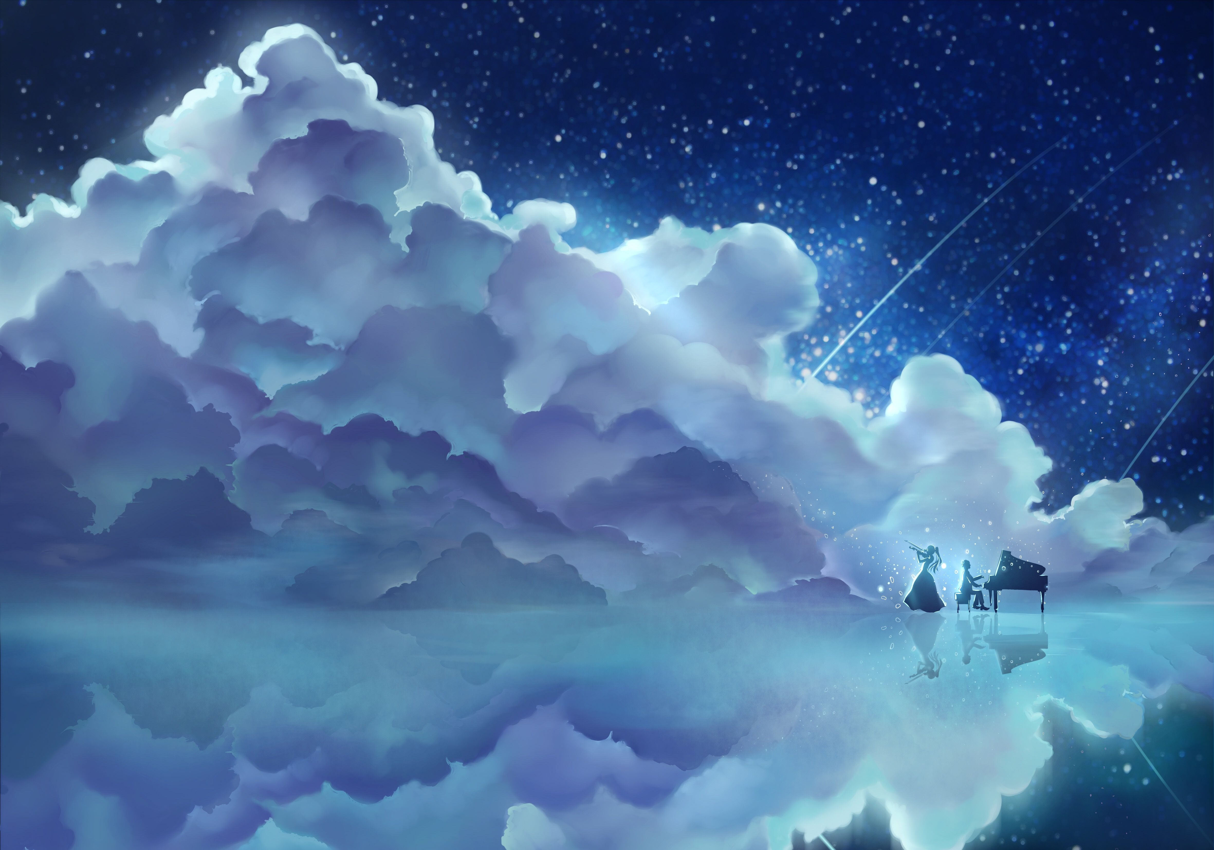 Your Lie In April Your Lie In April Background Images Scenery