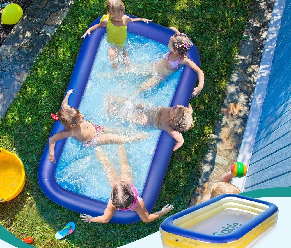 Top 10 Best Inflatable Pools In 2020 Reviews Hqreview Inflatable Pool Family Inflatable Pool Inflatable Swimming Pool