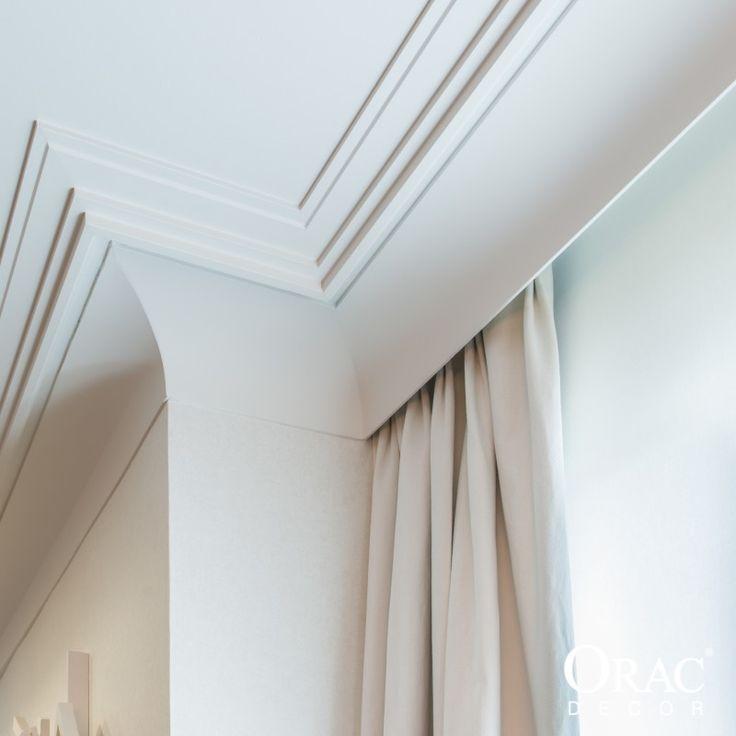 Cornisas para cortinas soluci n pr ctica acabado - Molduras de techo ...