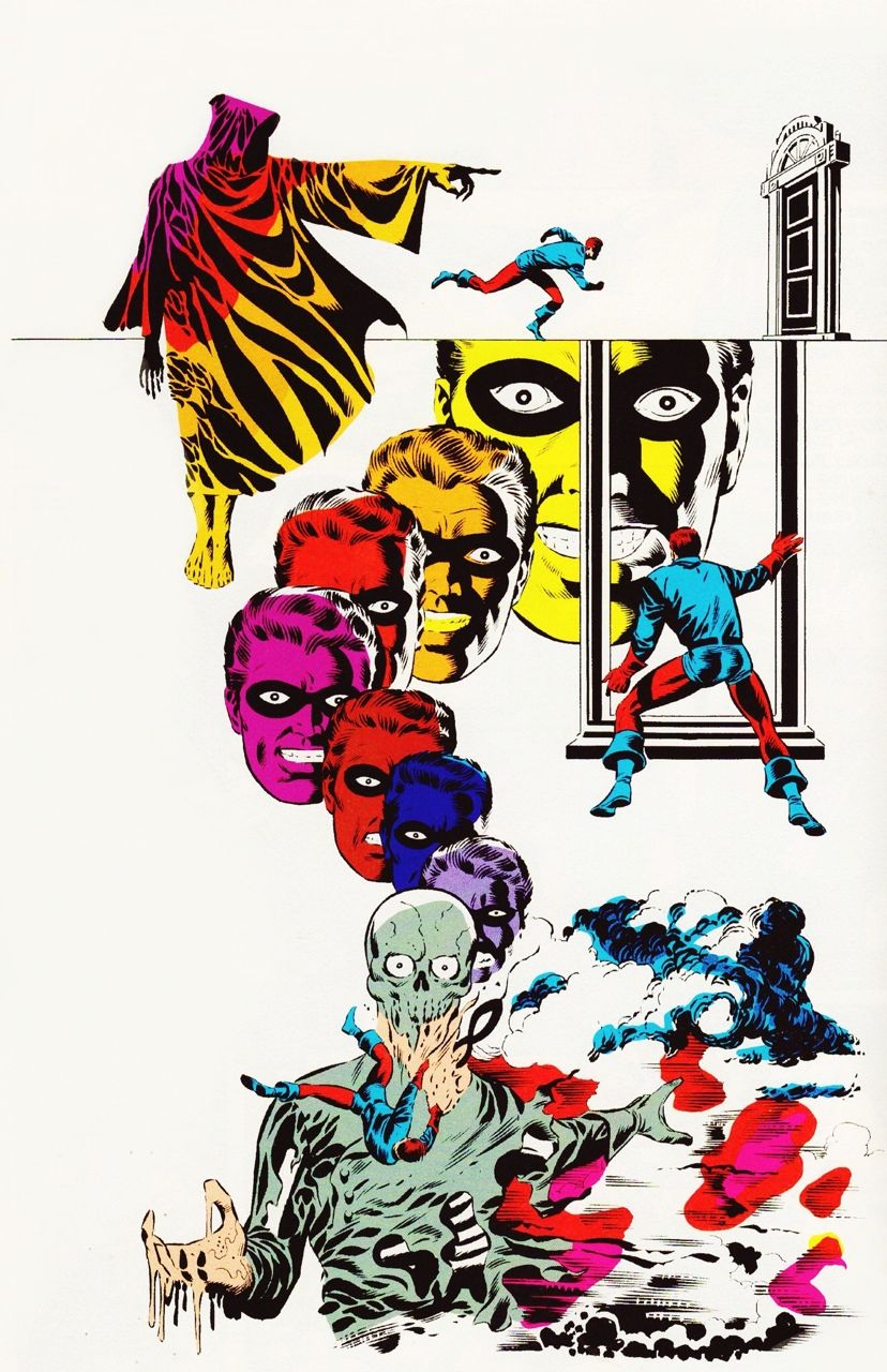 "boomerstarkiller67: "" art by Jim Steranko (1969) """