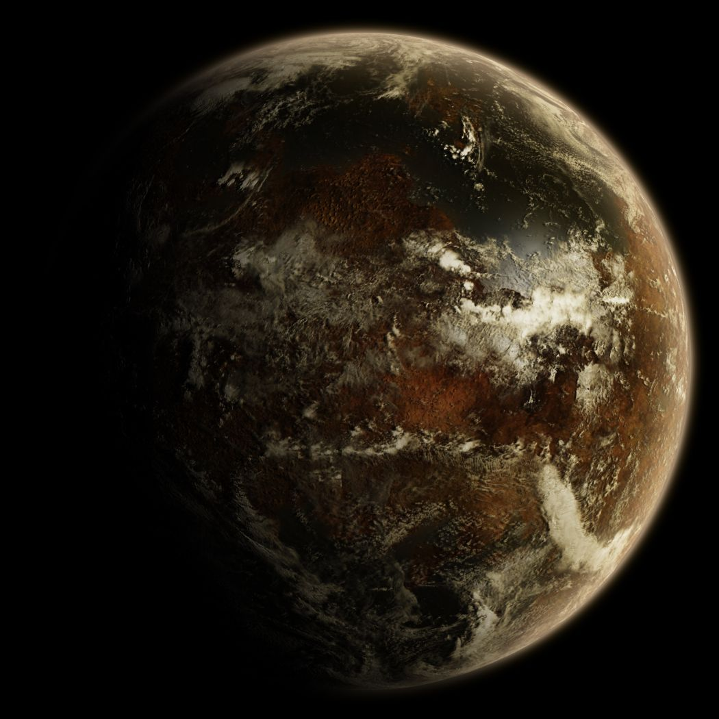 an alien planet - free source by hoevelkamp.deviantart.com ...