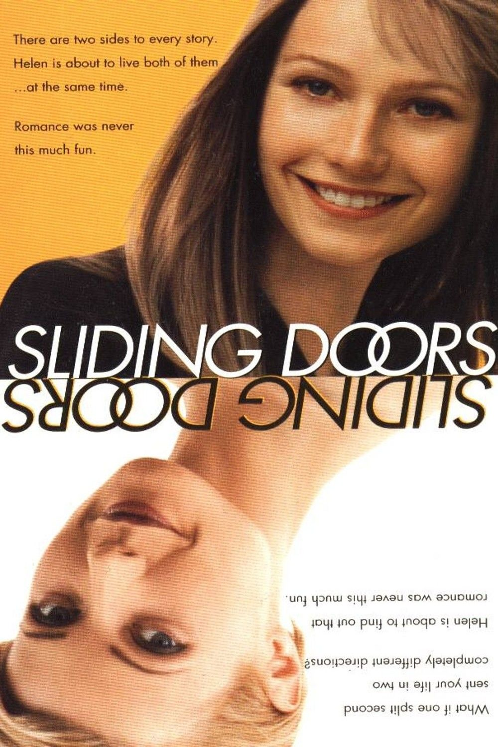 Sliding Doors 1998 Gwyneth Paltrow Plays One Character In Two