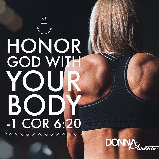How can you obey this command (not suggestion...command)? #honorgod #yourbodyisatemple #1corinthians #1cor6 #donnapartow