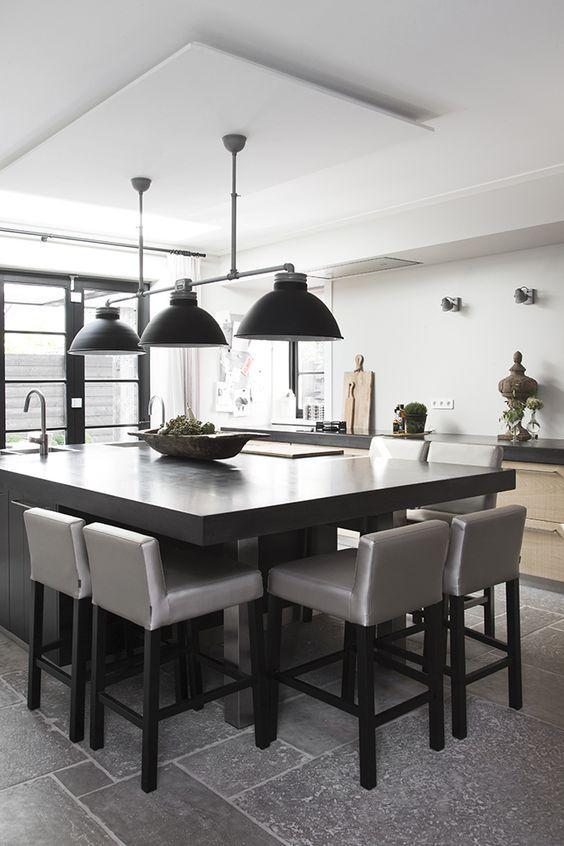 Cocinas Con Isla 2019 Murcia Mesa Ideas De Decoracion De Cocina Diseno De Interiores De Cocina Diseno Muebles De Cocina