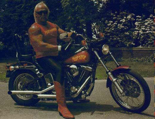 Hulk Hogan   Motorcycle, Biker life, Harley davidson
