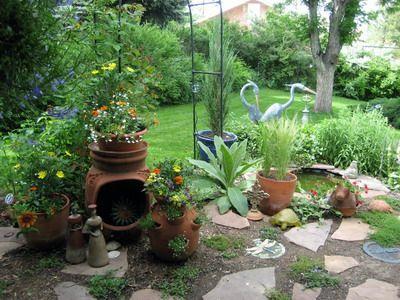 Love Mexican gardens | Mexican garden, Garden yard ideas ... on Mexican Backyard Decor  id=91035