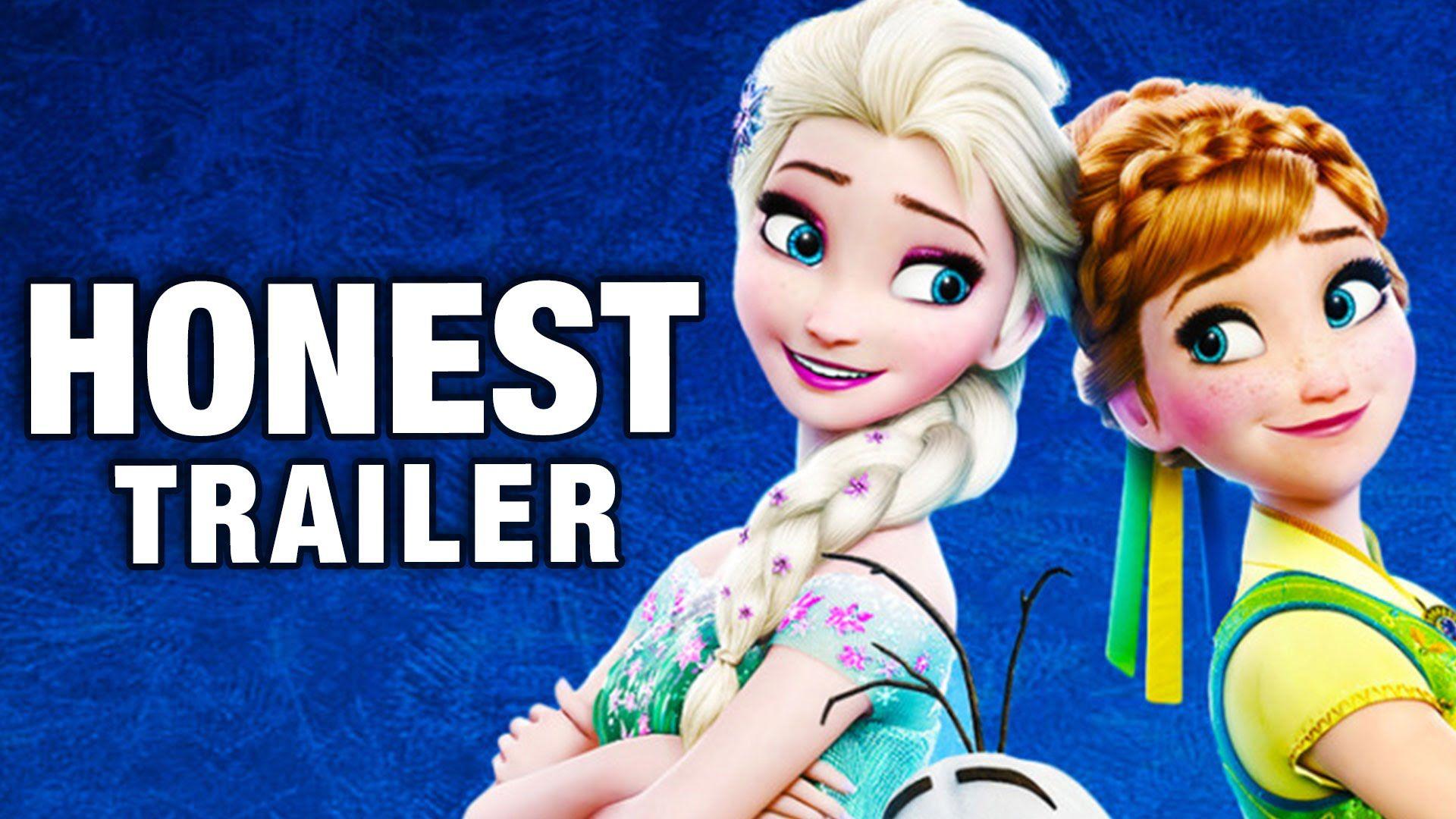 Honest Trailers Frozen Fever Frozen fever, Frozen