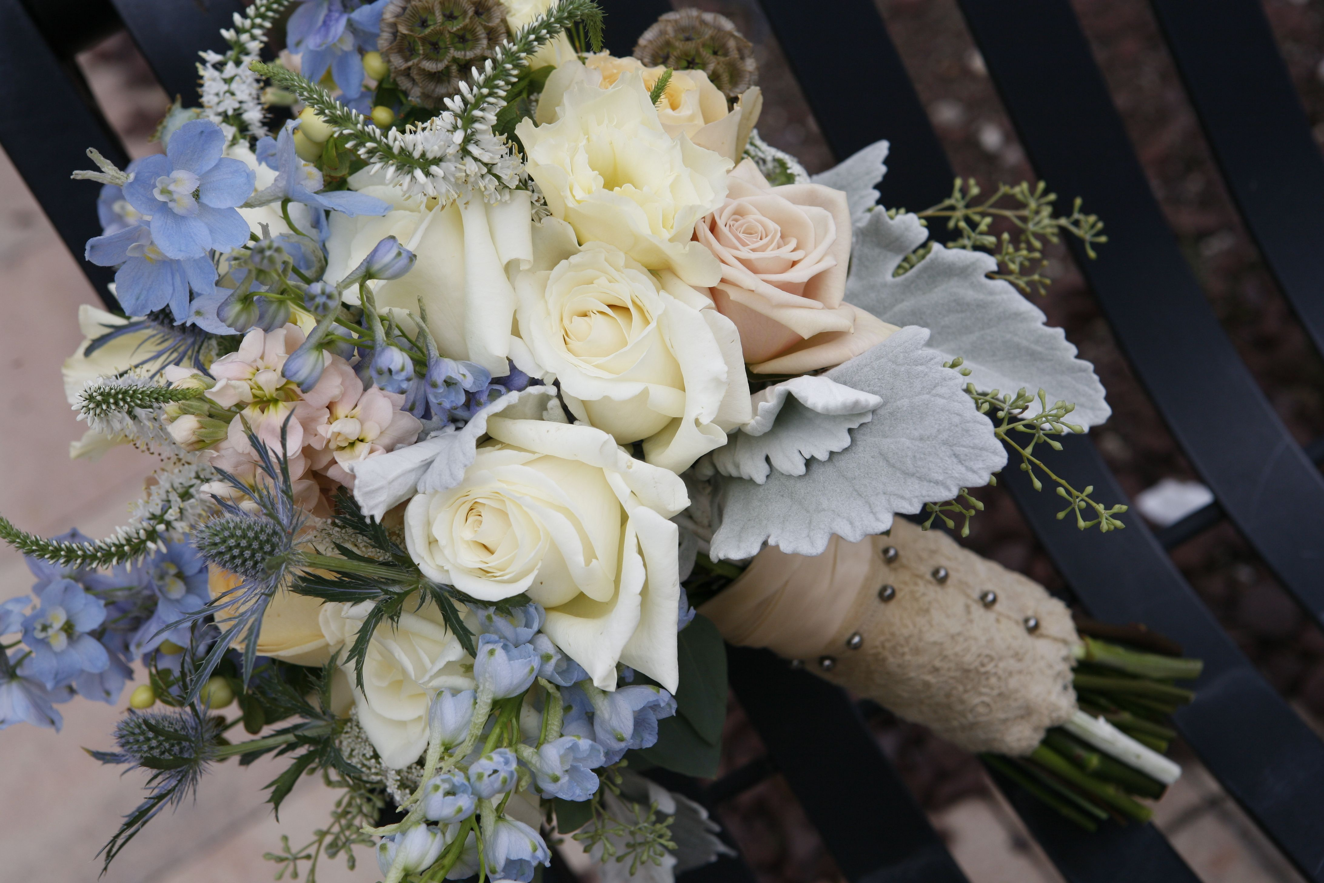 Bouquet design by Lana with #FairbanksFlorist, #NuVisionsinPhotography