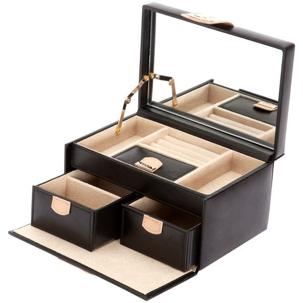 WOLF Chloe Small Jewelry Box 85 liked on Polyvore featuring