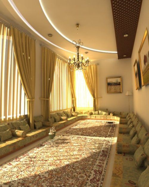 "Virtual Home Decor: ""Diwan"" Rooms In Yemen"