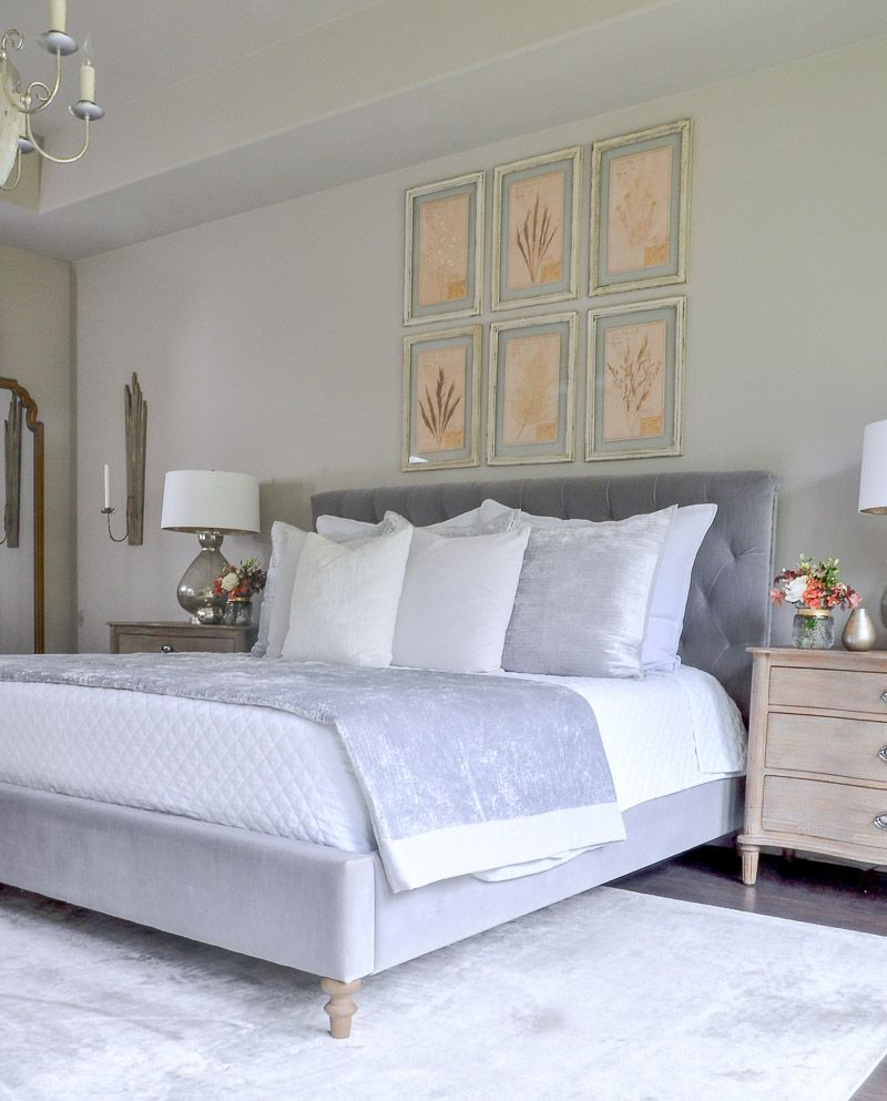 Welcoming Fall - A Fall Bedroom Tour