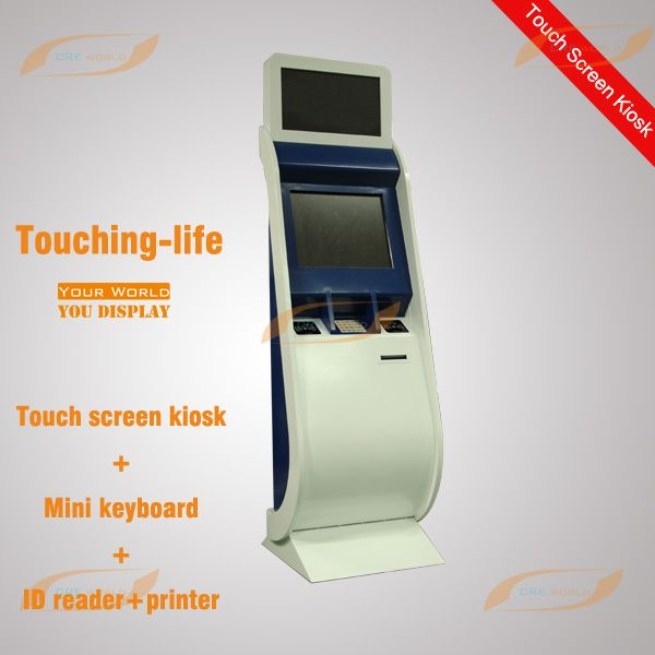 Indoor Floor standing touch screen kiosk(self-service