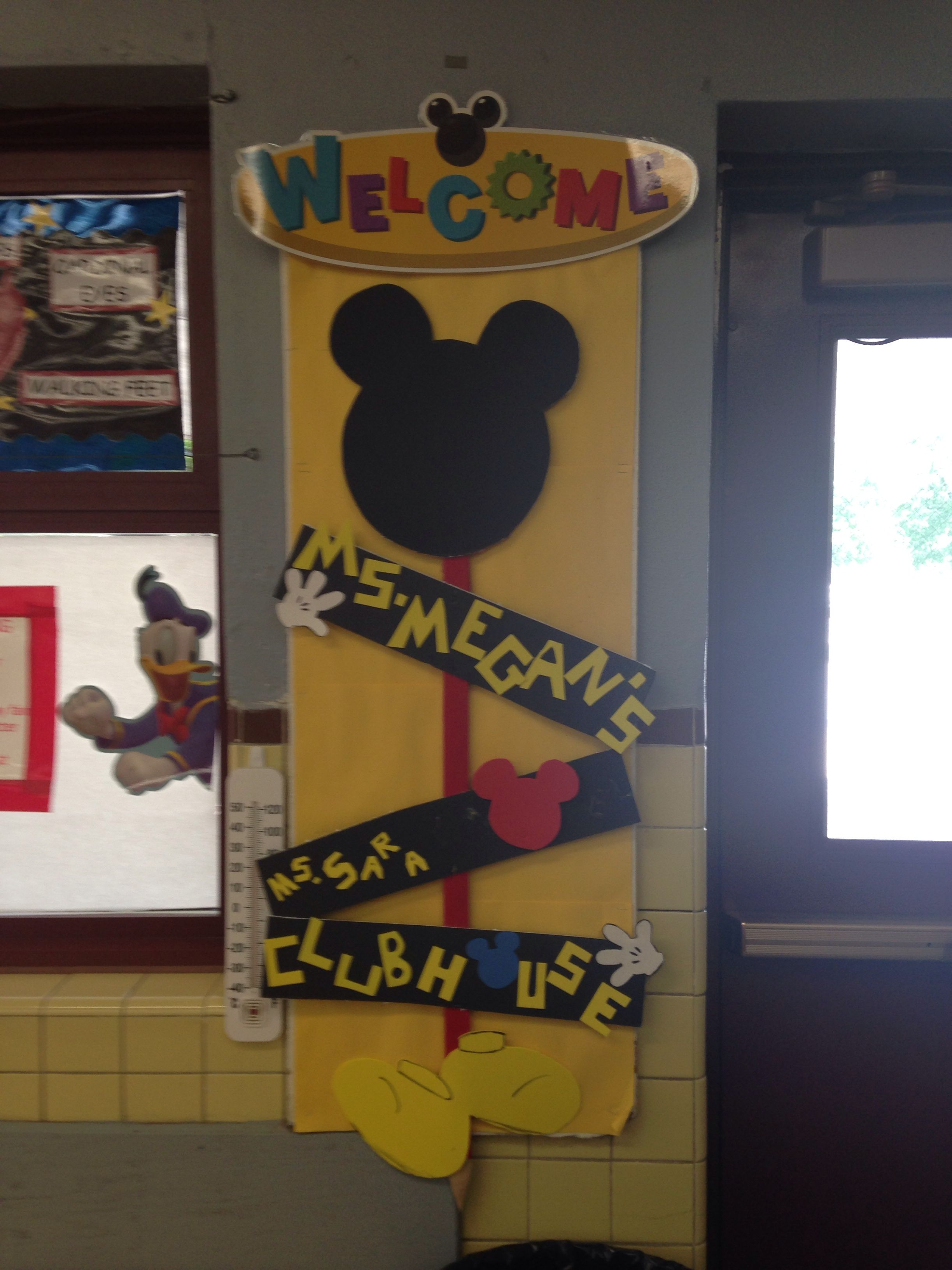 Mickey Bulletin Board With Images