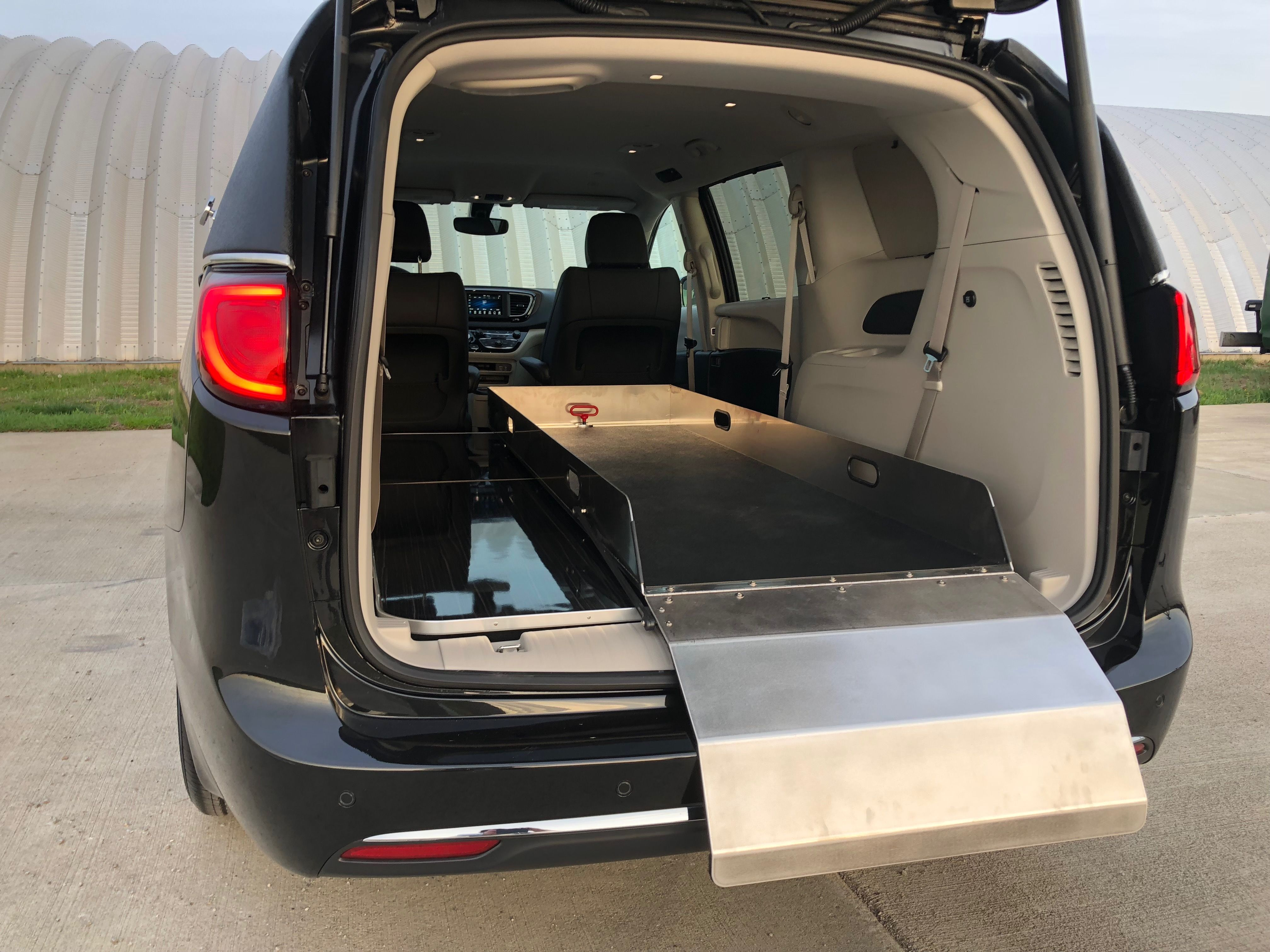 K2 Vehicles Chrysler Pacifica First Call Van Hearse