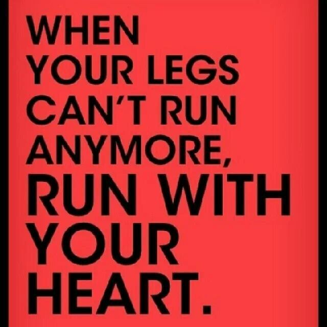 Anyone who's competed as a athelete knows what I'm talking about. It's all HEART that gets you through it:D #FridayMotivation #MakingResults #SettingGoals #AllHeart #Determination #WillPower #Perseverance