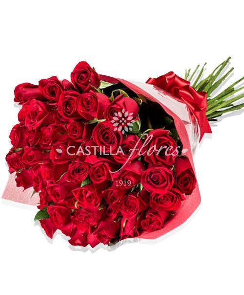 Ramo De 50 Rosas Rojas Ramo De Rosas Rosas Rojas Rosas