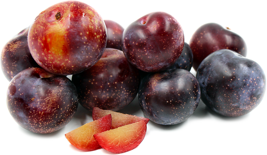 The Yummy Rosa® plum is comparable to the Santa Rosa plum in most all regards, but lacks the bitterness at the stone and skin.